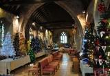 2014 BRIGHSTONE CHURCH OFFERS A FINE DISPLAY.