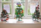 2014 WINNERS OF THE CHILDRENS TREE COMPETITION IN BRIGHSTONE LIBRARY.