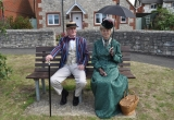 VISIT BY THE VICTORIAN STROLLERS