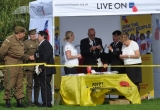 RBL tent attracts all kinds of uniforms