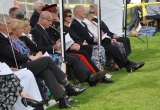 VIPs led by LCol Sir Guy Acland - Vice Lord Lieutenant IoW
