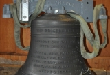 Names of our bell ringers cast into the bell for posterity.