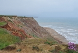 Cliffs at Grange Chine where Rev Fox found his fossils. P Bradley
