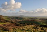 Brighstone from the Downs by Paul Bradley