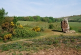 Mottistone, the Longstone by Paul Bradley