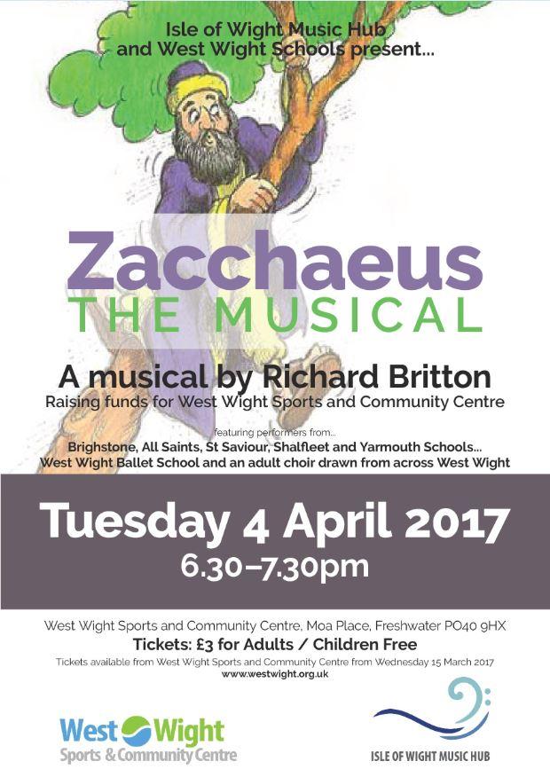Zacchaeus poster