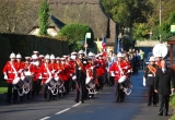 Brighstone RBL Remembrance Day Parade - Picture by Paul Bradley