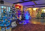 Trees in the Three Bishops PH - Brighstone Christmas Tree Festival