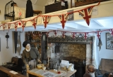 Brighstone Village Museum decorated for the Armistice.