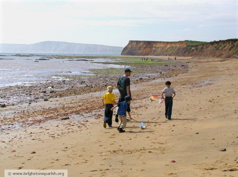 Brook Beach, Brighstone, Isle of wight