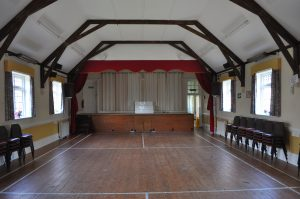 View of the inside of the Wilberforce Hall